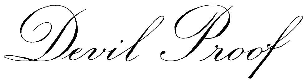 Devil Proof Logo